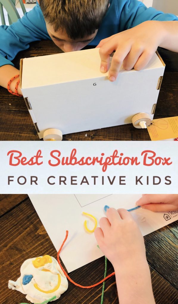 Best subscription box for creative kids
