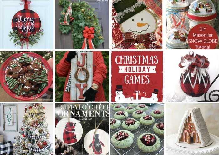 Check out these over 50 DIY Christmas ideas to create this year! These projects are sure to get you in the holiday spirit!