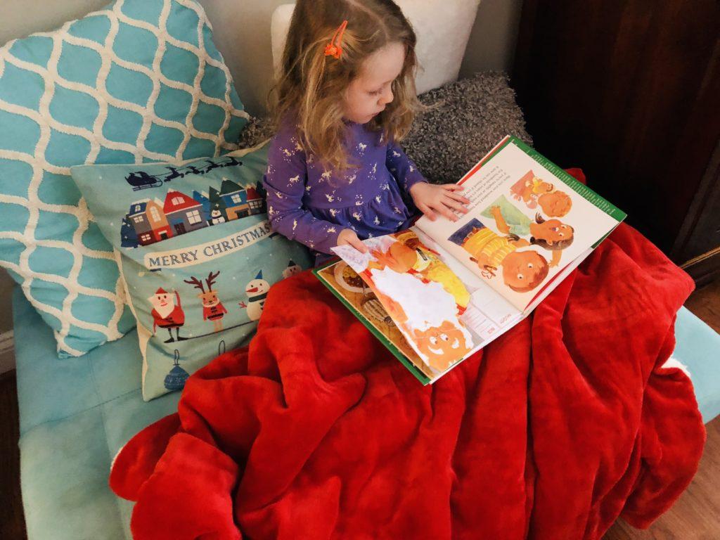 Cozy Holiday Reading Nook