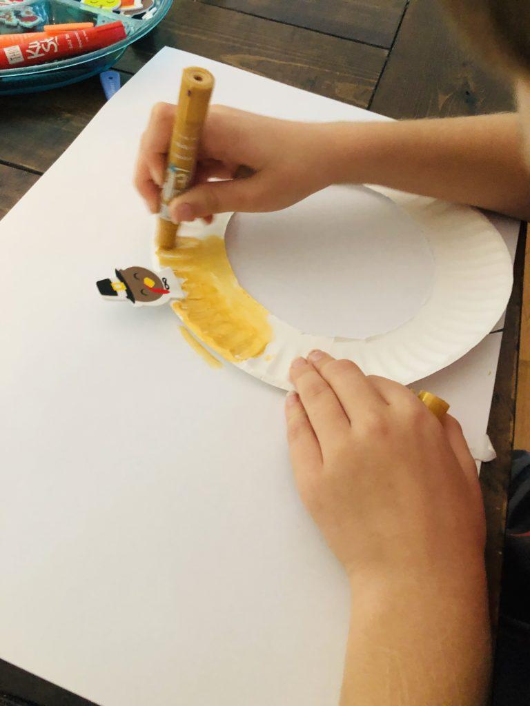 Using Kwik Stix paint
