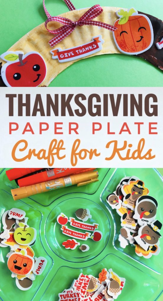 Thanksgiving Paper Plate Craft for Kids