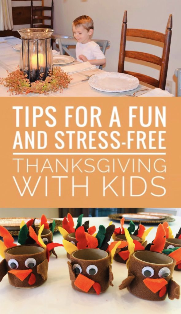 Follow these tips for a fun and stress-free Thanksgiving with kids. Actually enjoy this holiday with your family and make wonderful memories.