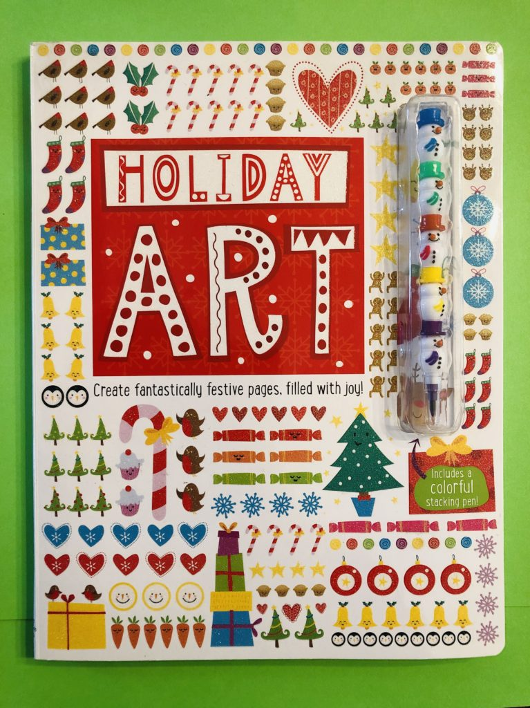 Holiday Art Activity Book
