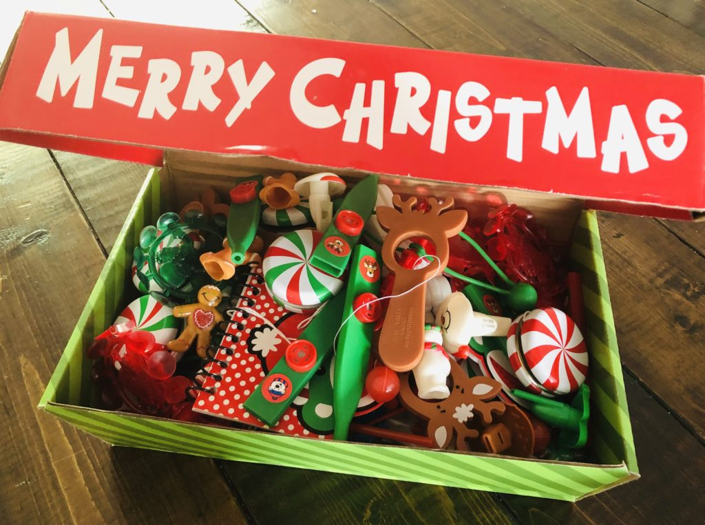 Santa's Treasure Chest Prize Box