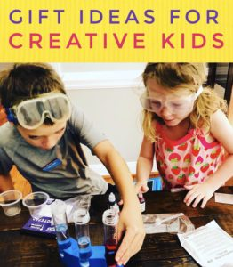 Gift Ideas for Creeative Kids