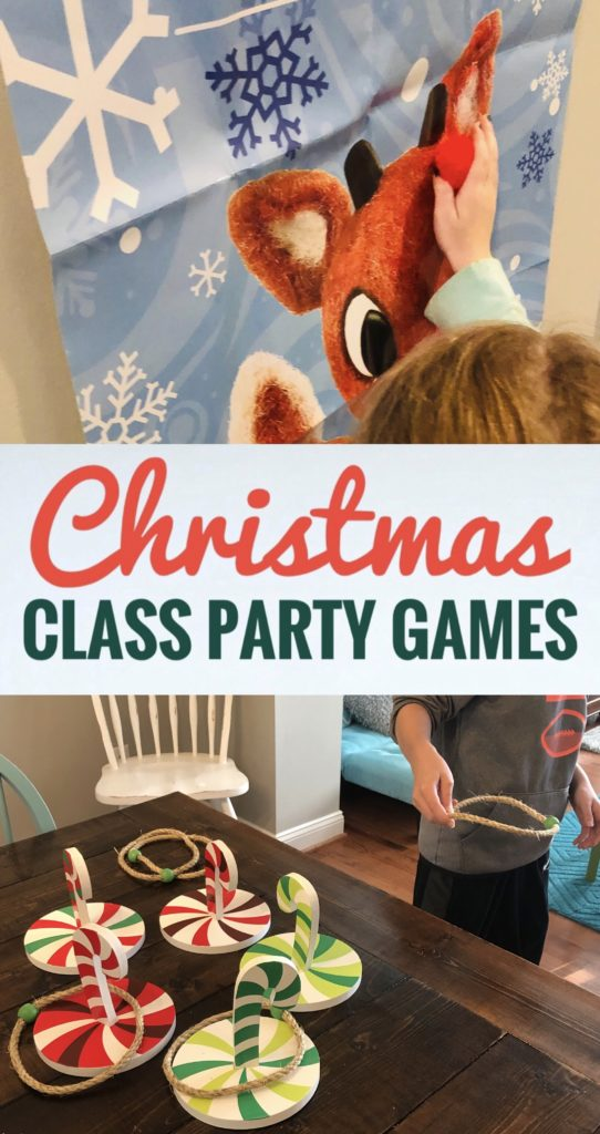 Easy Christmas Class Party Games for kids of all ages!