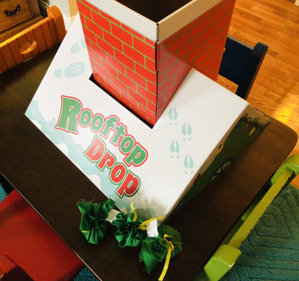 Rooftop Drop Holiday Game for Kids
