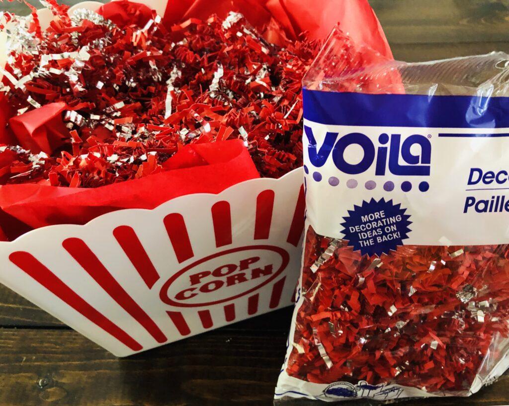 Popcorn Bucket Gift Basket