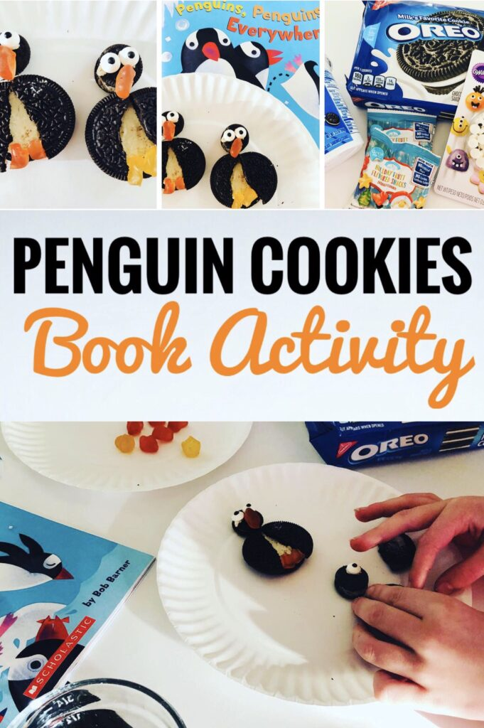 Penguin Cookies Book Craft Activity