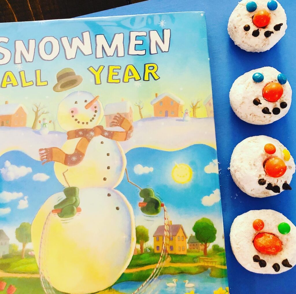Book Inspired Snowman Craft