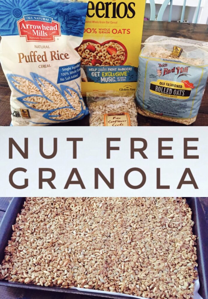 Nut-Free Homemade Granola
