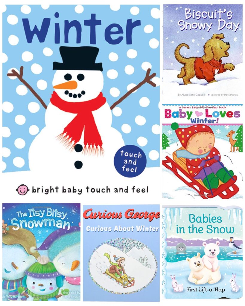 Toddler Board Books About Winter
