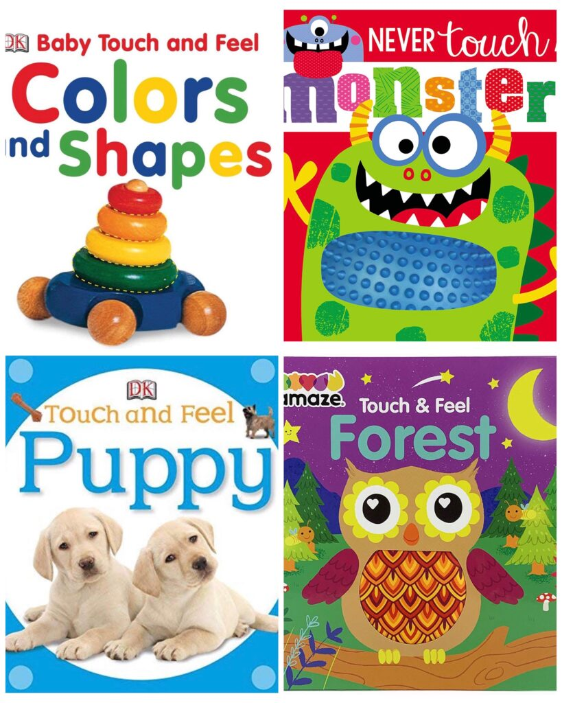 Touch and Feel Board Books for Toddlers