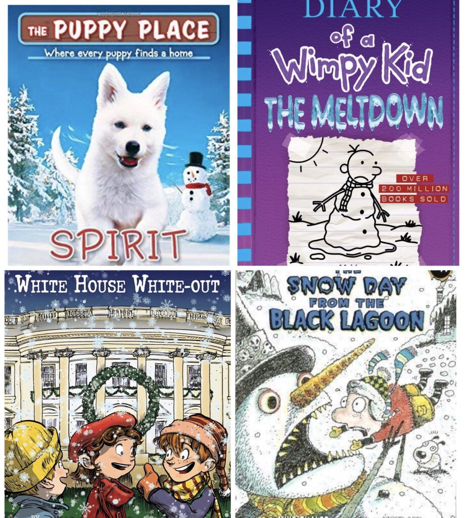 Winter Chapter Books for Kids
