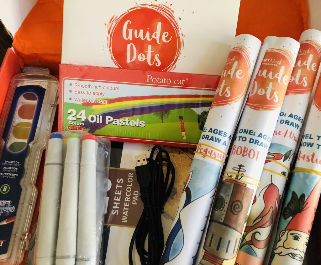 Guide Dots Start Kit for online art