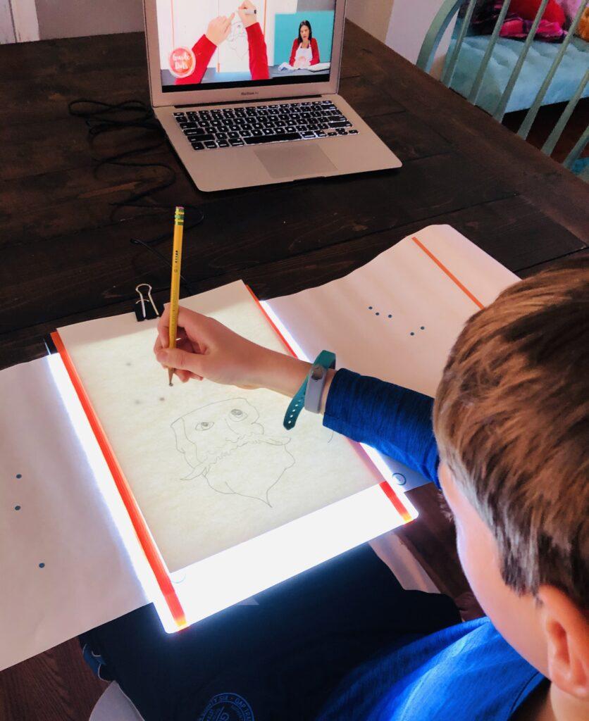 Guide Dots Art Class Online