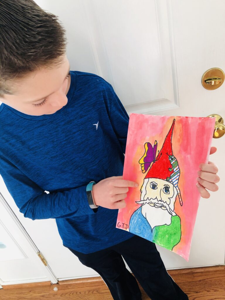 Online Art Classes for Kids with Guide Dots