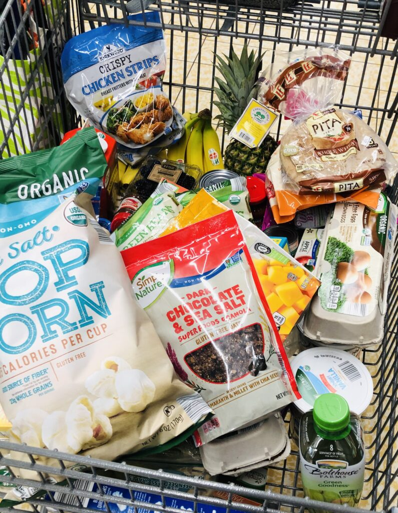 ALDI Grocery Shopping for Budget Meal Plan