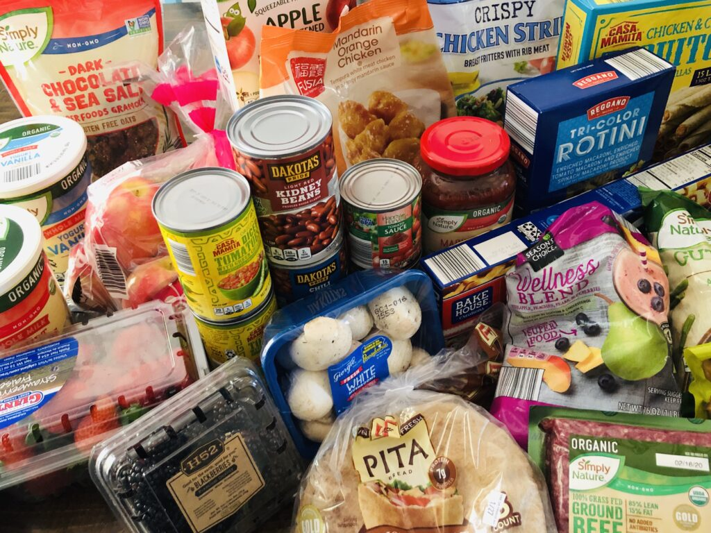 Aldi Budget Groceries for Family