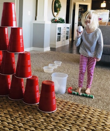 Indoor Snowball Games for Kids