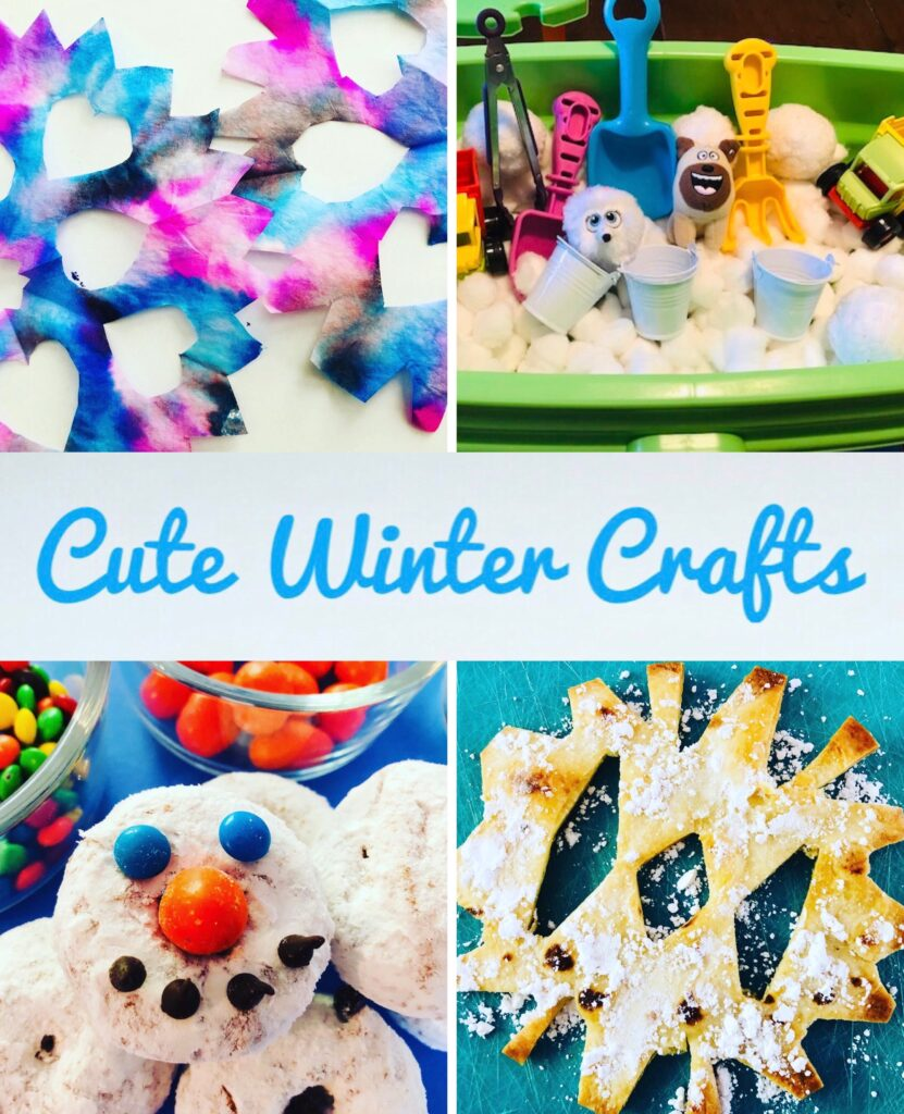 Cute Winter Crafts for Kids