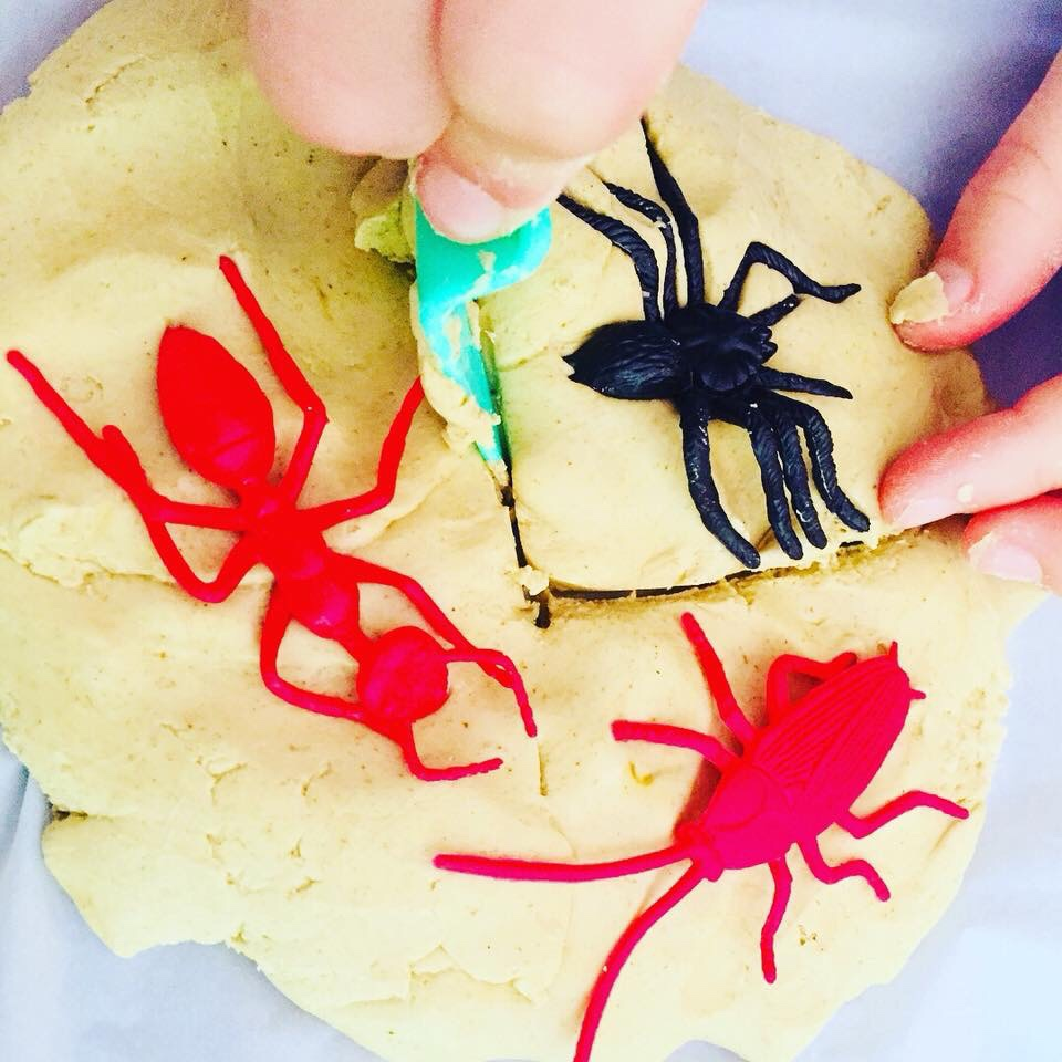 Bug Playdough