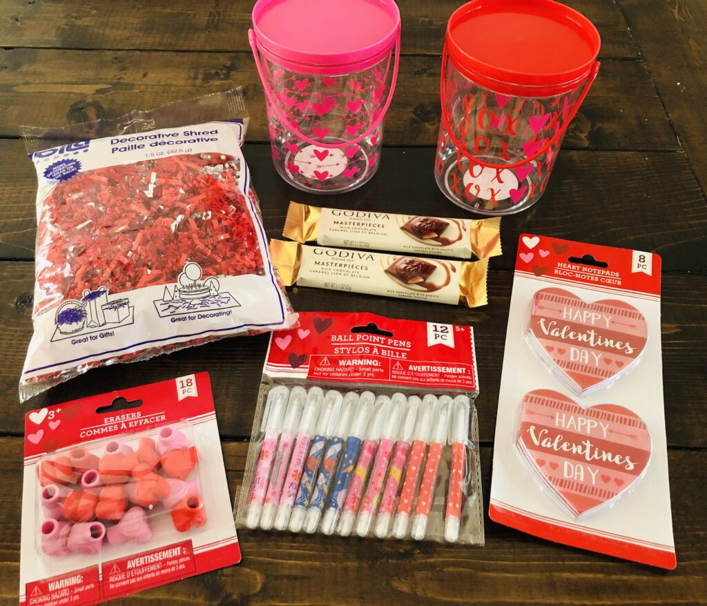 Dollar Tree Valentine Supplies
