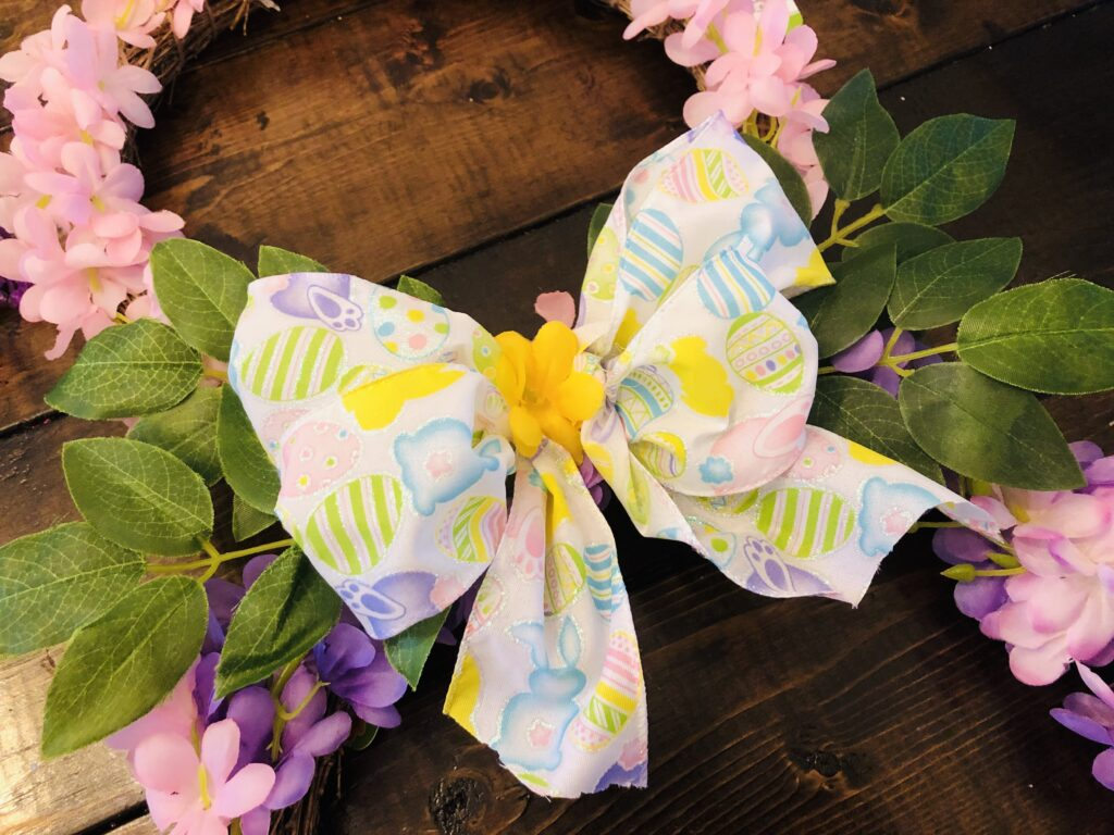 Easter Bunny Wreath Tutorial
