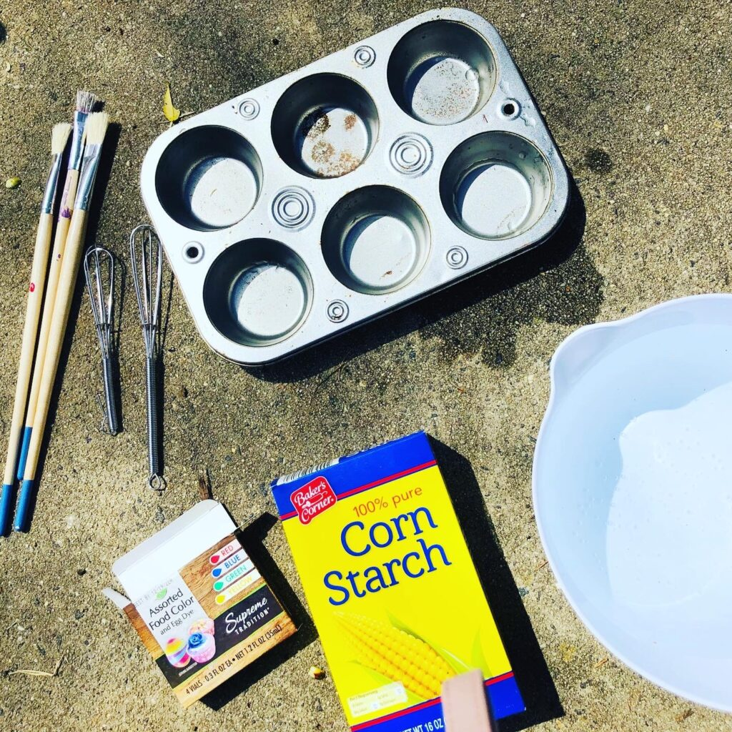 Sidewalk Paint Supplies