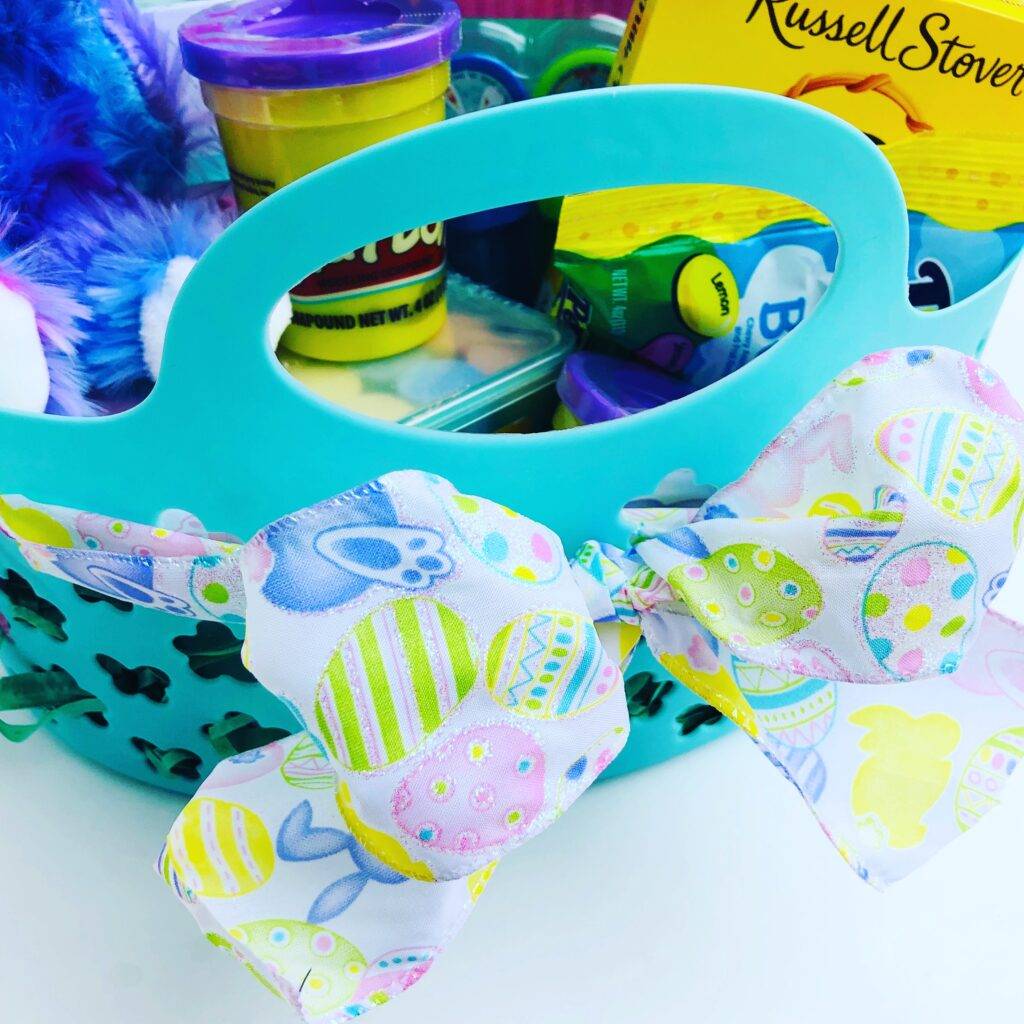 Easter Ribbon Basket