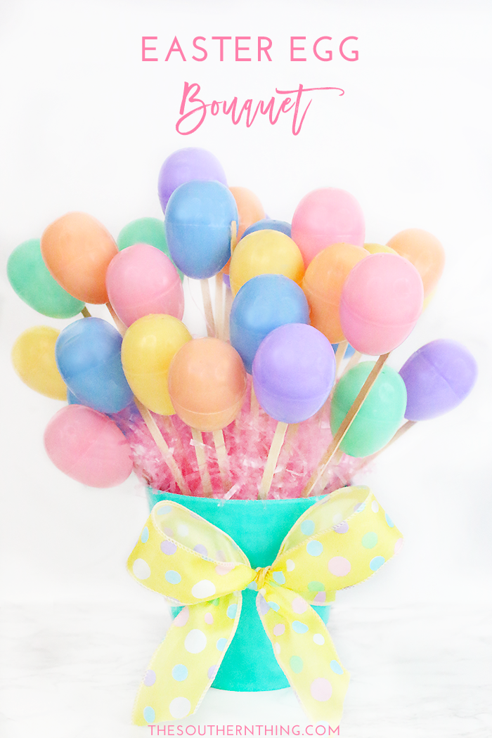 DIY Easter Egg Bouquet Tutorial • How to Make an Easter Egg Bouquet w/ Candy