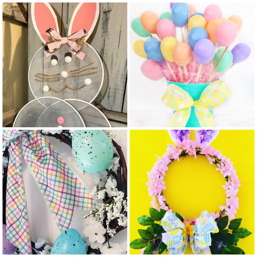 Easter Home Decor Dollar Tree DIY