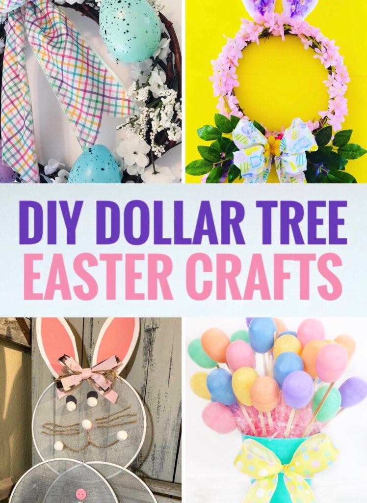 DIY Dollar Tree Easter Crafts