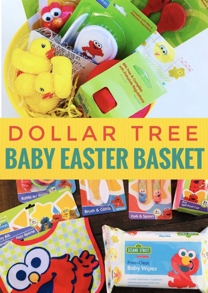 Dollar Tree Baby Easter Basket