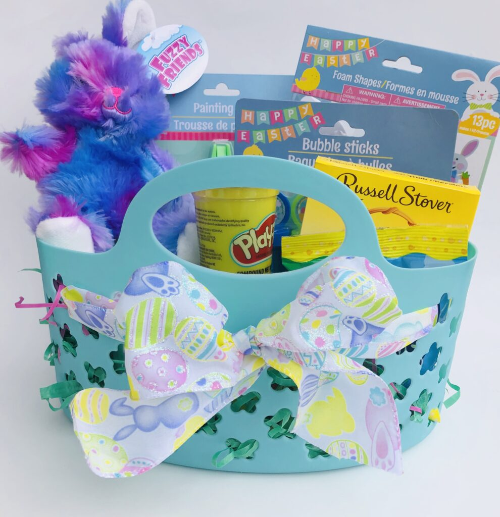 Dollar Tree Easter Basket for Preschooler