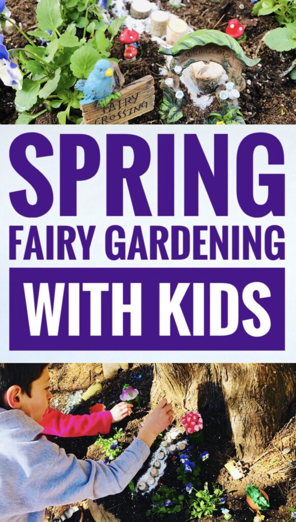Spring Fairy Gardening with Kids