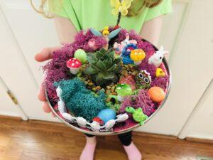Easter Fairy Garden Kit for kIds