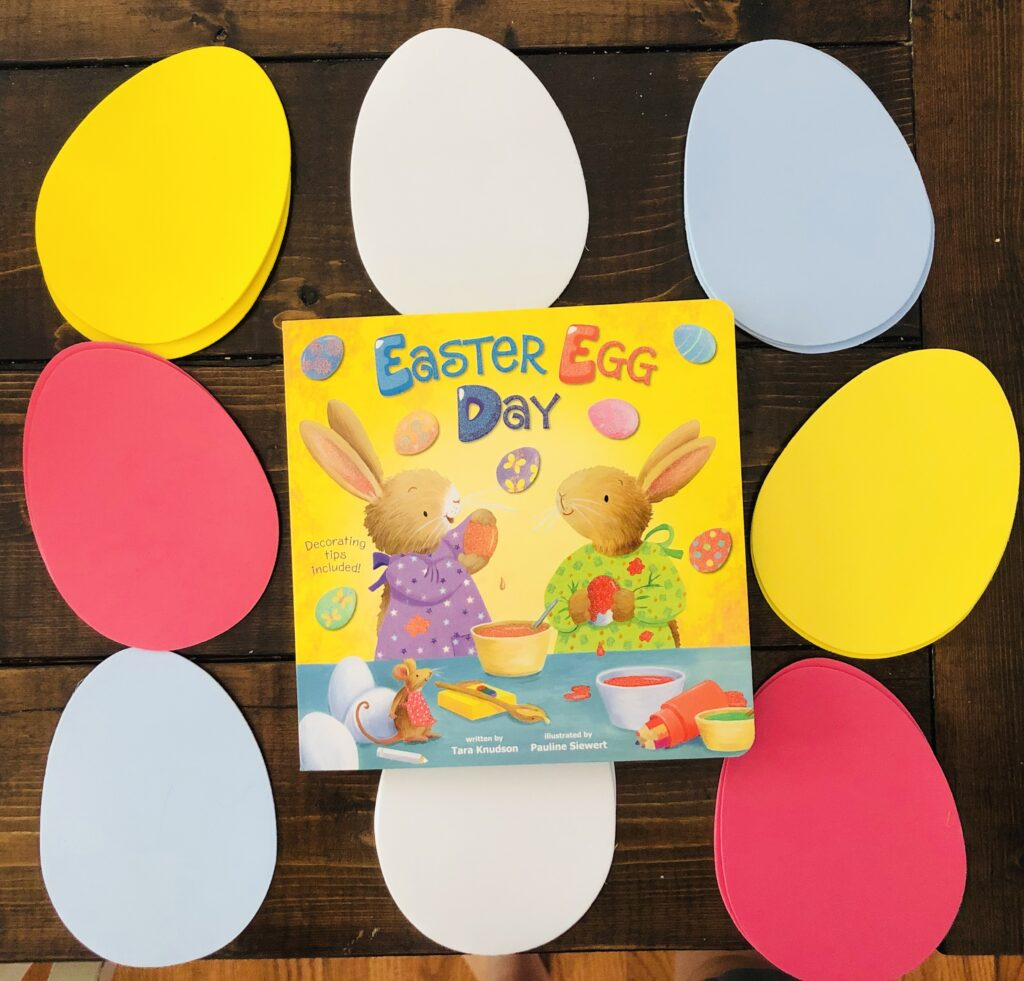 Easter Egg Day Book Activity Craft