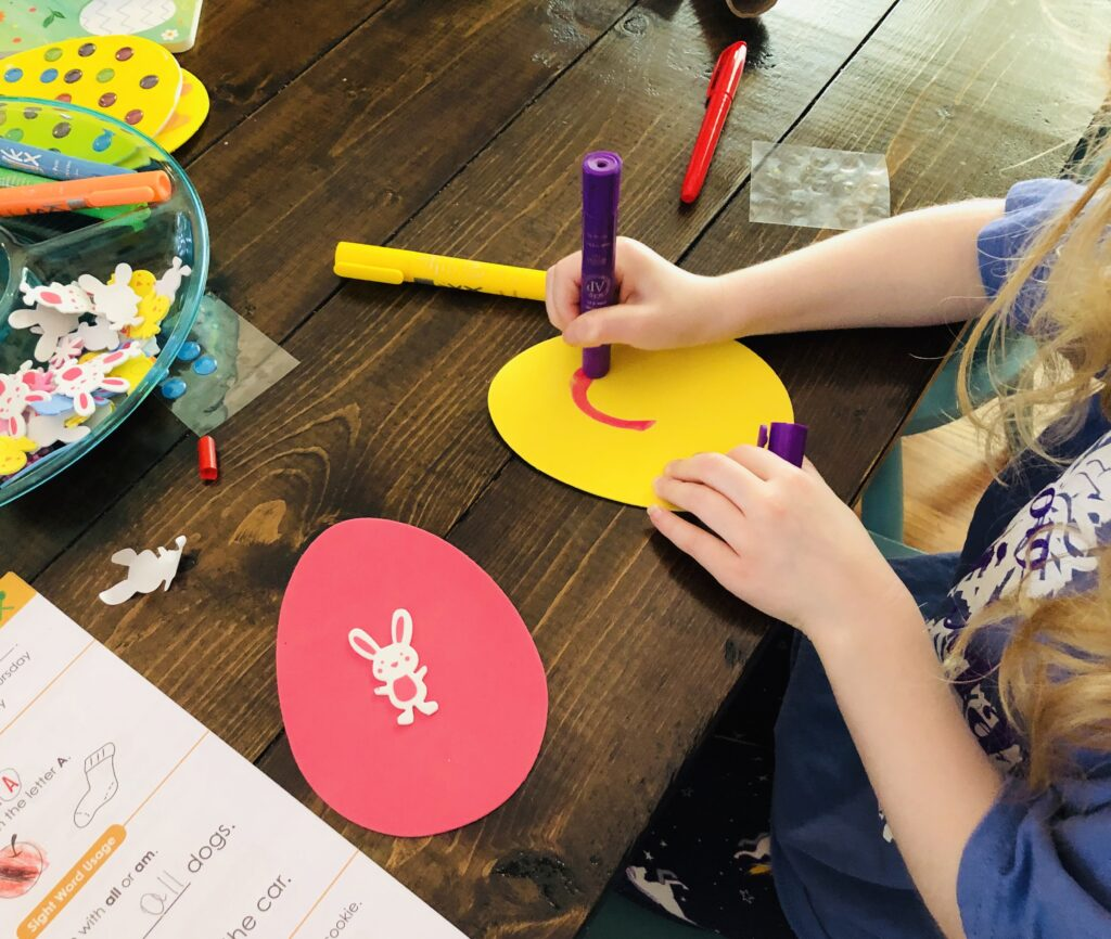 Easter Craft with Kwik Stix Paint