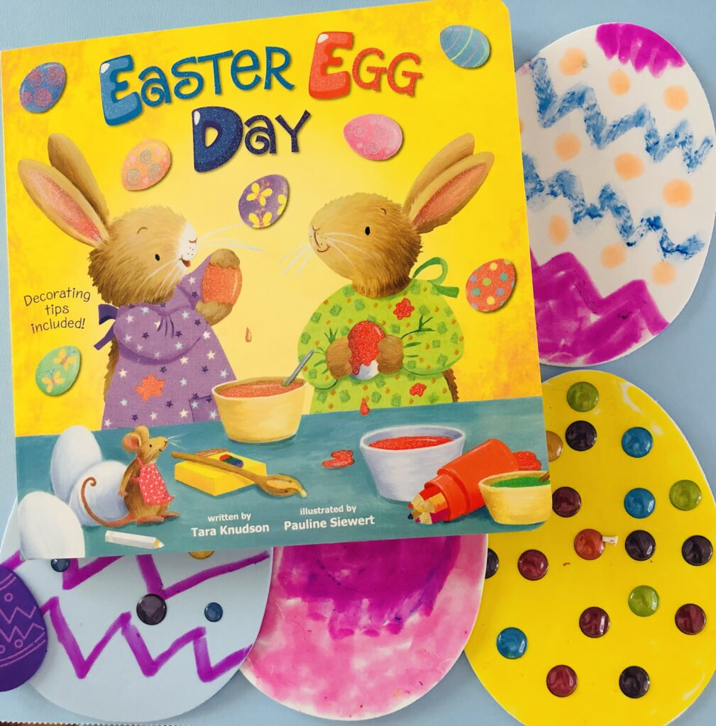 Foam Easter Egg Book Activity Craft