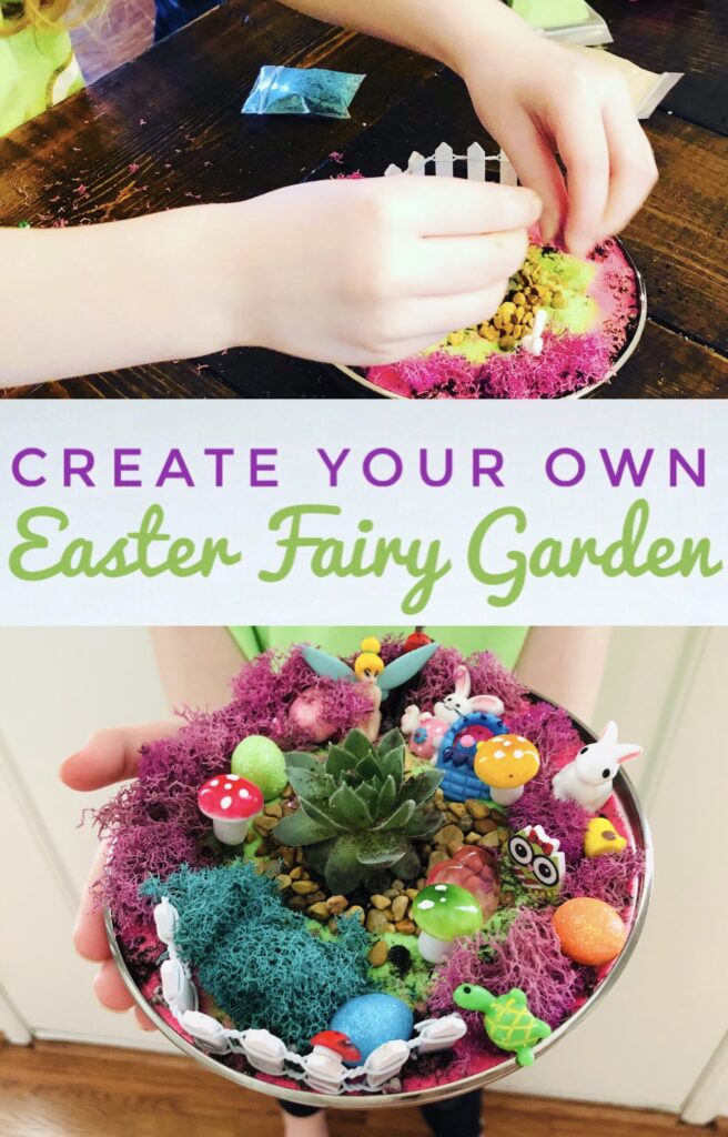 Create your own Easter Fairy Garden Kit for Kids