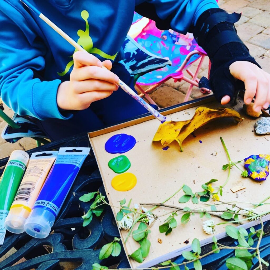 Kids Creating with Nature Activity