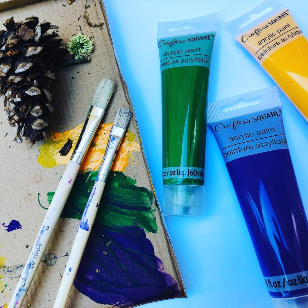 Supplies for Painting with Nature