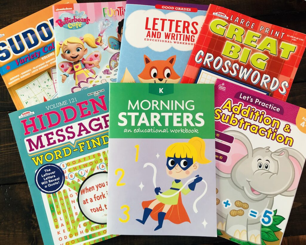 Best $1 Activity Books for Kids