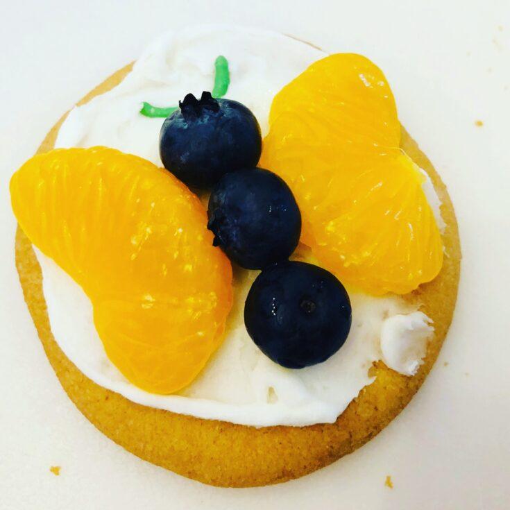 Butterfly Fruit Cookies