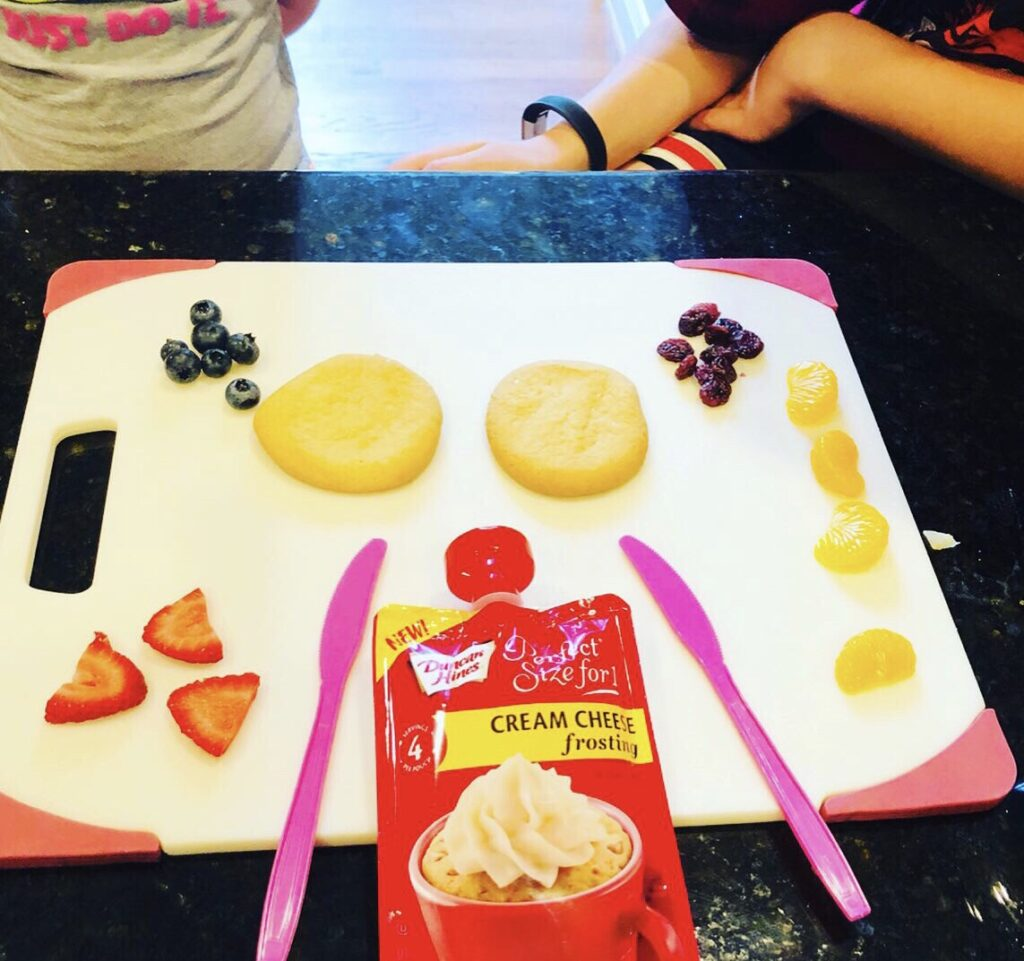 Butterfly Cookie Snacktivity for Kids