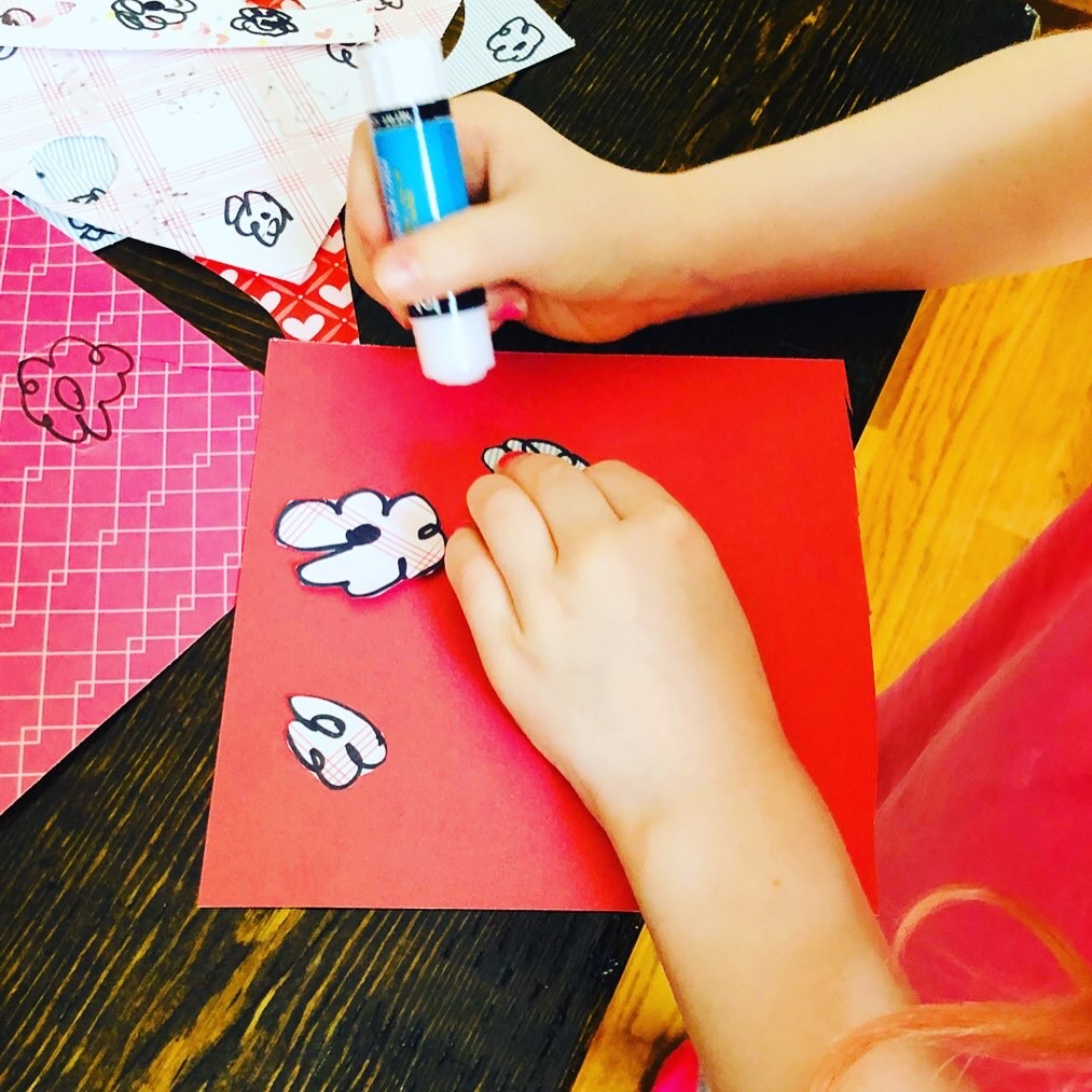 Kids Card Craft for Mother's Day