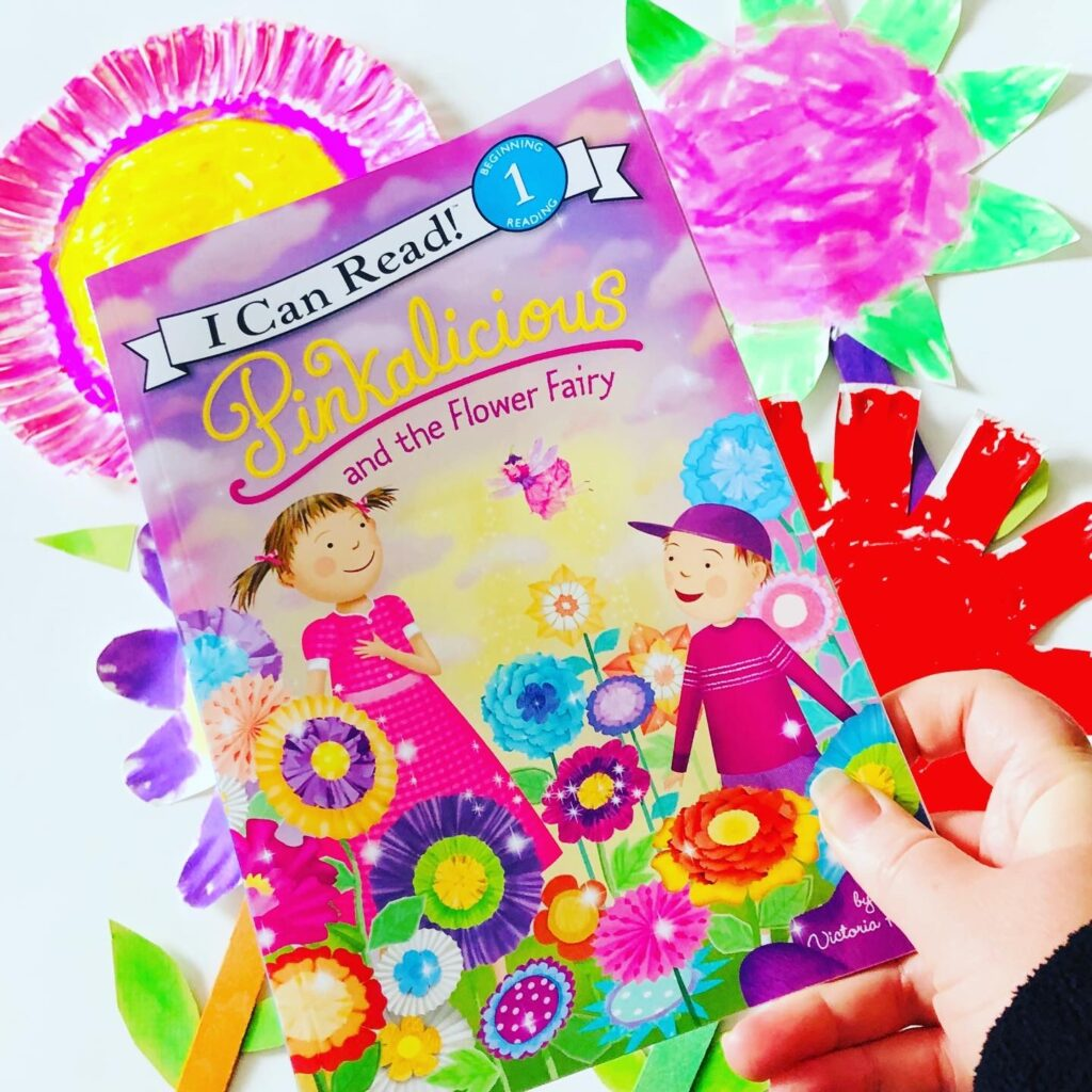 Pinkalicious and the Flower Fairy Book