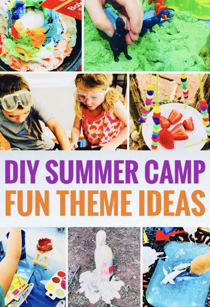 DIY Summer Camp Theme Ideas for a fun summer!