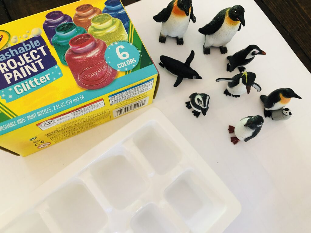 Ice Cube Painting Supplies